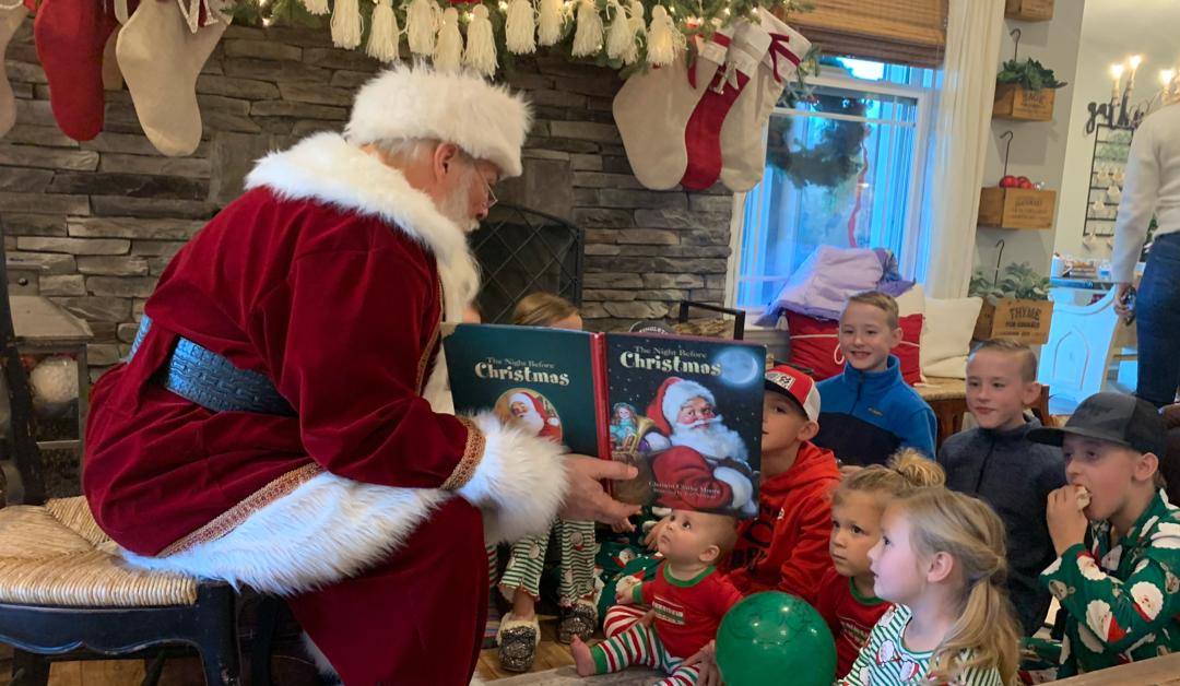 Our Annual Singletary Santa Brunch
